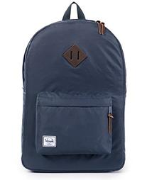 Herschel Supply Co. Men's Heritage Nylon Backpack, Navy, One