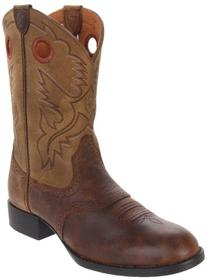 Ariat Heritage Stockman Western Boot ,Distressed Brown/Brown