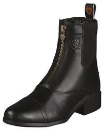 Ariat Womens Heritage III Zip Paddock 10.5 B / Medium Black