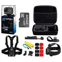 GoPro HERO5 Black 4K Action Camera CHDHX-501 SANDISK 16GB