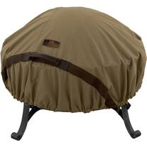 Classic Accessories Hickory Fire Pit Cover, Tan