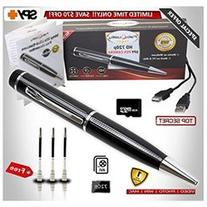 Hidden Camera Pen FabQuality Spy Camera Pen TRUE VIDEO