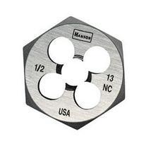High Carbon Steel Fractional Hexagon Dies - die 1/2-13nc1