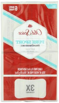 Old Spice High Endurance Pure Sport Scent Bar Soap Pack Of 6