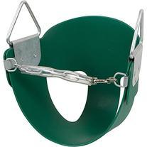 Highback Half Bucket Seat, Green, with SSS logo Sticker