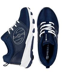 Heelys Hightail Shoes - Navy/White 1 M US Little Kid