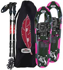 RedFeather Women's HIKE 22 Inch Recreational Series Snowshoe