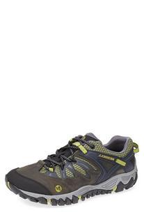 Men's Merrell 'Allout Blaze' Hiking Shoe Navy/Moss 10 M