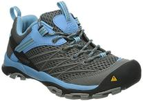 Women's Keen 'Marshall' Hiking Shoe Gargoyle/ Alaskan Blue 5