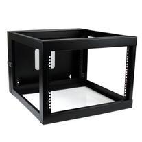 StarTech.com 6U 22-Inch Hinged Open Frame Rack Cabinet