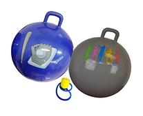 Hippity Hop 55cm Including Free Foot Pump, For Children Ages 6 & Up, Space Hopper, Hop Ball Bouncer