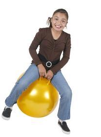 Hippity Hop 26 In. Yellow Hop Ball
