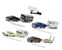 Hitch & Tow Series 5 Set of 4 1/64 by Greenlight 32050 SET