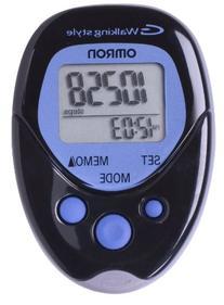 Omron Hj-113 Pocket Pedometer, Walking Style, Black