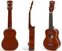 Hola! Music HM-21MG Soprano Ukulele Bundle with Canvas Tote