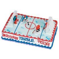 Oasis Supply 6-Piece Hockey Cake Decorating Kit