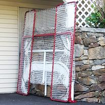 EZGoal Hockey Folding Pro Goal with Backstop and Targets, 2-