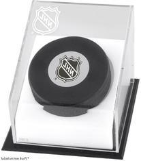 Hockey Puck Logo Display Case | Details: NHL