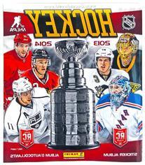 2013-2014 Panini Hockey Sticker Album Book
