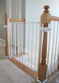 No Hole Stairway Baby Gate Mounting Kit By Safety