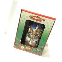 Budweiser Holiday Stein 1998