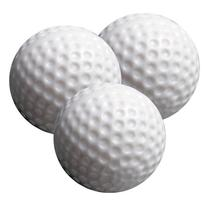 White Dimple Practice Balls-12 Pack