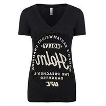 UFC Women's Holly Holm Bantamweight Champion T-Shirt -