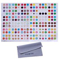 Home Button Stickers! 216 choices! Polka Dots, Colorful