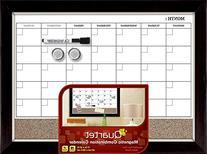 Quartet Magnetic Combination Calendar Board, Dry-Erase and