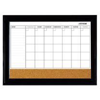 Quartet Magnetic Combination Calendar Board, Dry Erase &