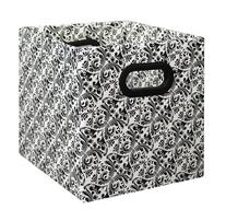 Bankers Box Home Organization, Cubby Storage Bin, Black and