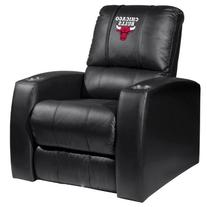 Home Theater Recliner with Chicago Bulls Logo