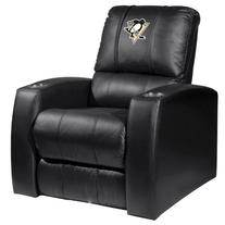 Home Theater Recliner with Pittsburgh Penguins