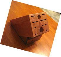 Cutco Homemaker Plus Eight Honey Finish Oak Block 1748