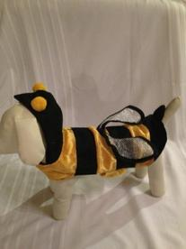 Honey Bee Dog Costume size small