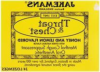Jakemans Honey Lemon Throat & Chest Lozenge Box