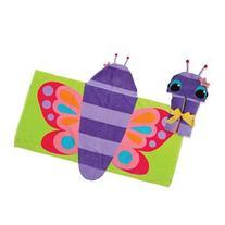 Stephen Joseph Kids Hooded Towel - Butterfly
