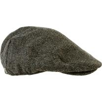 Brixton Hooligan Snap Cap Grey/Black Herringbone, L
