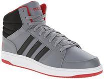 adidas NEO Men's Hoops VS Mid Fashion Sneaker, Grey/Black/