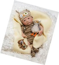 Paradise Galleries Hoot! Hoot! Baby Doll that Looks like a
