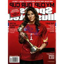Hope Solo Autographed 7/20/1 Sports Illustrated Magazine