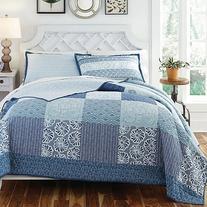 KD Spain Horizons Bedding Quilt Set