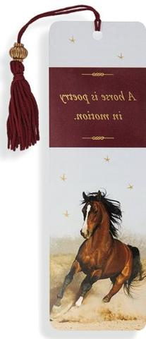 Horse Beaded Bookmark