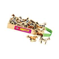 T.S. Shure Horse Breeds Wooden Magnets 20 Piece MagnaFun Set