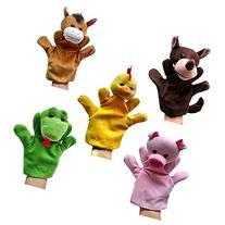 Happy Cherry Horse/Snake/Wolf/Hen/Pig Animal Cute Plush Hand