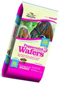 Manna Pro Horse Treat Wafers, Peppermint, 20 Lb