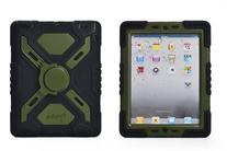 Pepkoo Ipad Mini 1& 2 Case Plastic Kid Proof Extreme Duty