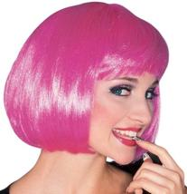 Rubie's Costume Hot Pink Super Model Wig, Hot Pink, One Size