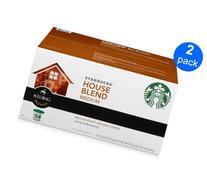 Starbucks House Blend 2-pack;54 K-cup Each