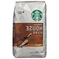 Starbucks House Blend Whole Bean Coffee - 32oz
